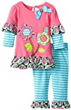 Rare Editions Baby Girls Infant Legging Set