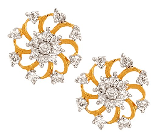 the-jewelbox-nakshatra-flower-18k-gold-plated-american-diamond-stud-earring-for-women