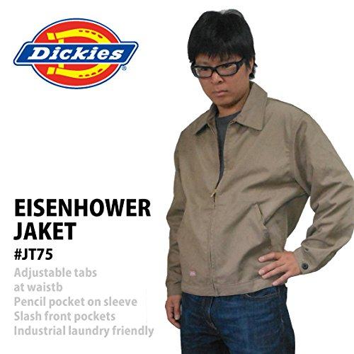 【アウトレット】ディッキーズ アイゼンハワージャケット 「JT75」 色:KAHKI サイズ:M
