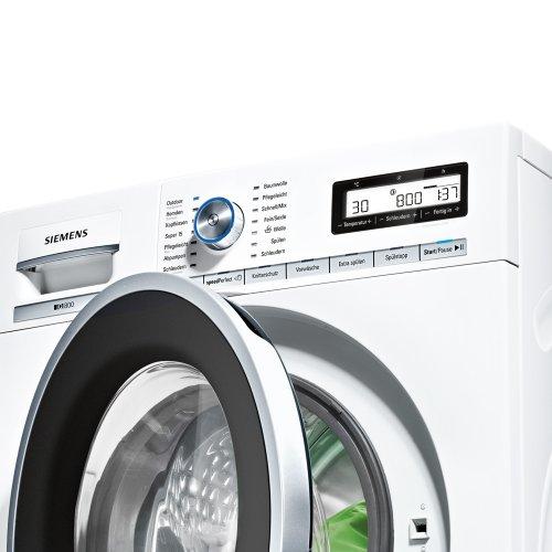 siemens iq800 vergleichstest waschmaschine frontlader. Black Bedroom Furniture Sets. Home Design Ideas