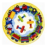 Round TPT Fun Rug