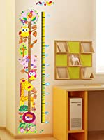 Ambiance Sticker Vinilo Decorativo Owl And Girafe (Kidmeter)