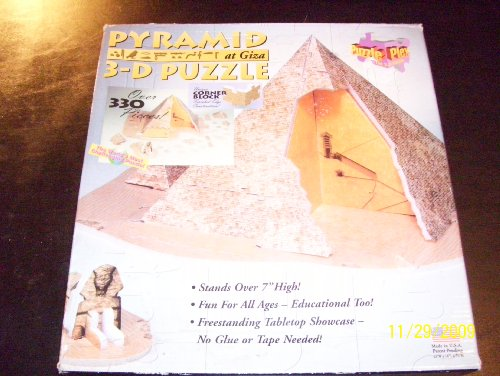 Cheap Telebrands Puzzle Plex PYRAMID at GIZA 3-D Puzzle Over 330 Pieces (B002Z5ITDI)
