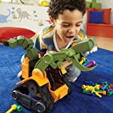 """Educational Insights Dino Construction Company """"Wrecker"""" The T-Rex Skid Loader"""