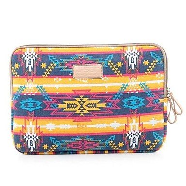 """Zcl Canvas 13"""" Indian Style Laptop Case Pouch Cover Notebook Bag Sleeve For Dell Acer Asus Hp , 13 Inch"""