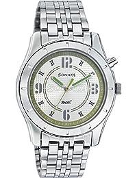 Sonata Silver Dial Analog Watch For Men 7067SM03