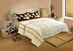 Raymond Home Double Bedsheet with 2 Pillow Covers