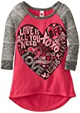 Beautees Big Girls All You Need Is Love Top