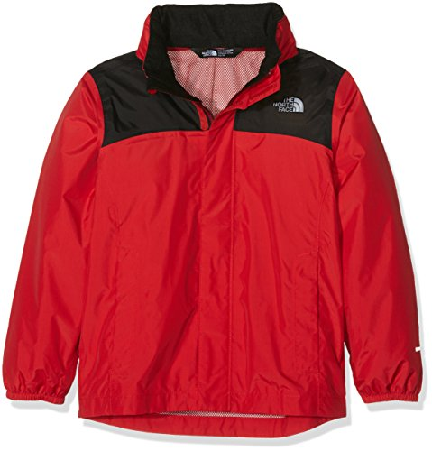 The North Face Reflective Resolve Jacket Boys' TNF Red L