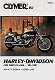 Clymer Harley Davidson Dyna Glide Twin Cam Manual M425-3