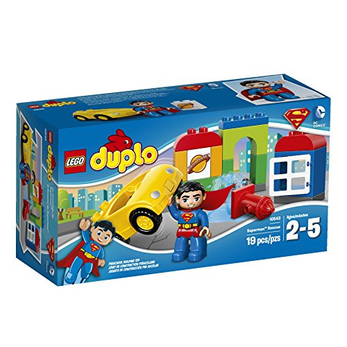 LEGO DUPLO Super Heroes Superman Rescue Building Set 10543