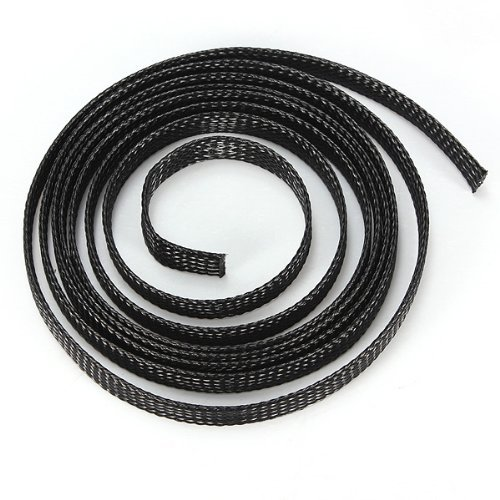 well-goal-8mm-1m-braided-expandable-auto-wire-cable-gland-sleeving-high-density-sheathing