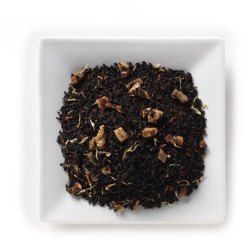 Mahamosa Flavored Black Tea Blend Loose Leaf (Looseleaf)- Apple Mango Tea 8 Oz
