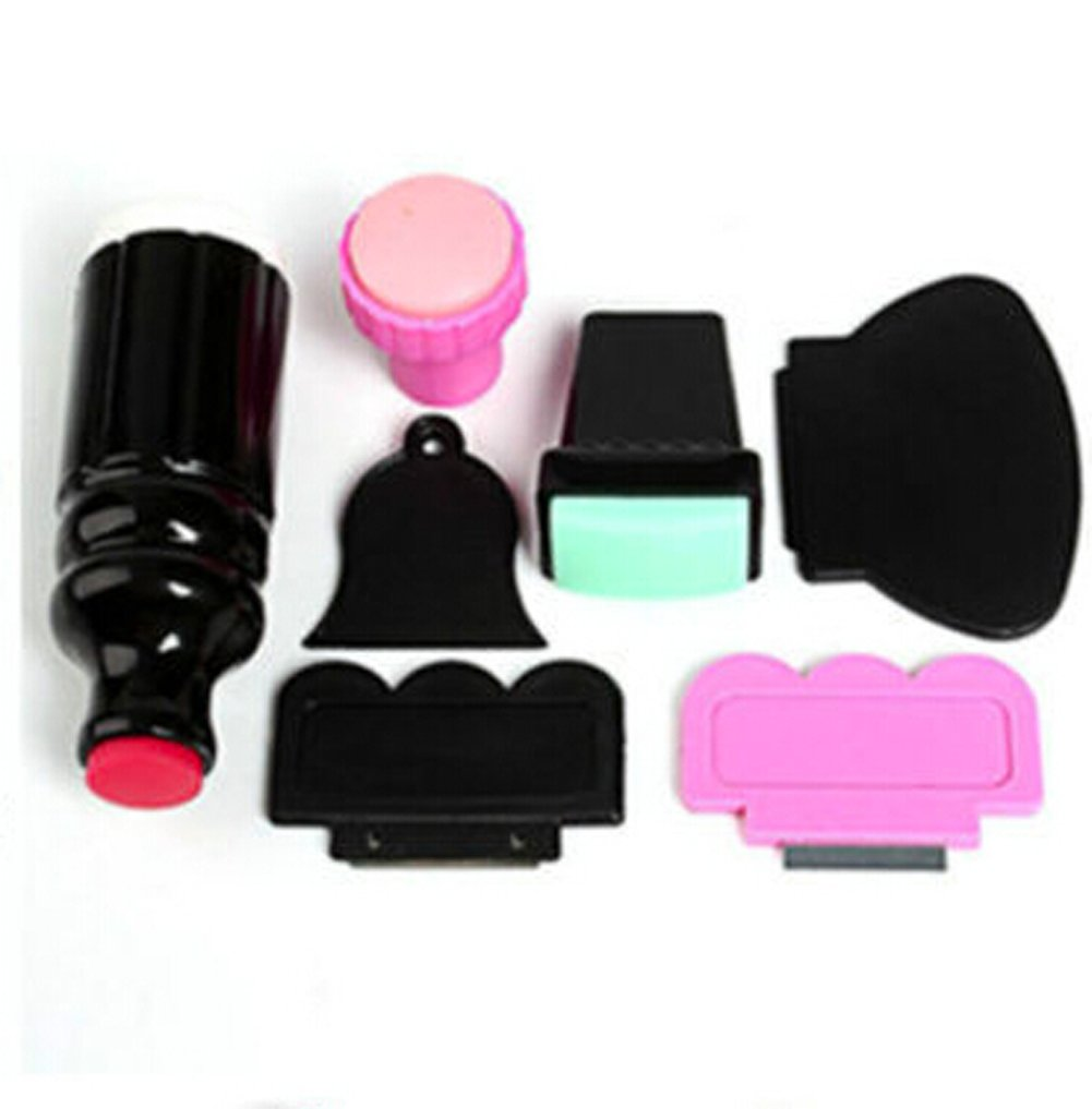 7 in 1 Nail Art Stamp Cutter Scraper