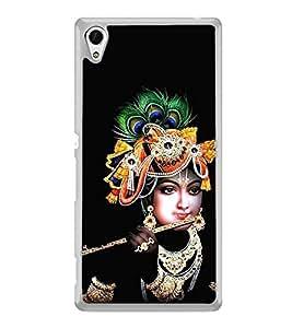 Krishna 2D Hard Polycarbonate Designer Back Case Cover for Sony Xperia Z4