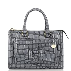 Brookline Satchel<br>Slate Brookline