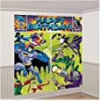 Batman & Friends Giant Scene Setter Wall Decorating Kit Birthday Party