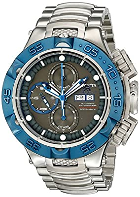 Invicta Men's 15493 Subaqua Analog Display Swiss Automatic Silver Watch