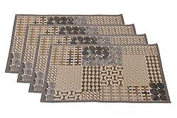 Avira Home Set of 4 Abstract Table Mats-(13