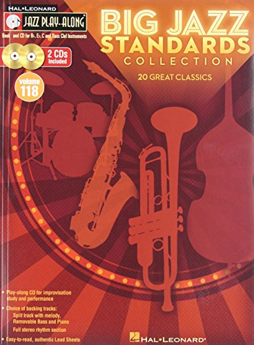 Big Jazz Standards Collection: Jazz Play-Along Volume 118