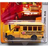 Matchbox City Action GMC School Bus Yellow Detailed Diecast #42 1:64 Scale Collectible Die Cast Car by Matchbox