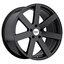 TSW Bardo Wheel with Matte Black Finish (18″x8″/5×114.3mm)
