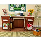 Kangaroo Kabinets Home Indoor Bandicoot Teak Sewing Storage Cabinet