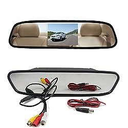 4.3-inch Rear view TFT-LCD Color Car Monitor and car rear view camera COMBO