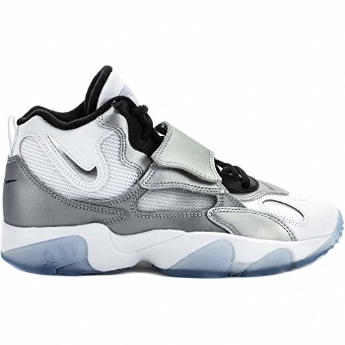 sells dirt cheap outlet store sale Nike Air Speed Turf Big Kids Sneakers Sports Shoes White Silver ...