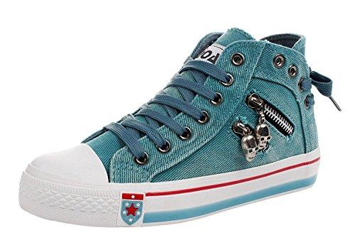 imayson-women-skull-fashionable-zipper-shoes-lace-up-flats-canvas-sneakers85-bm-us-lakegreen