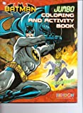 Batman Jumbo Coloring and Activity Book ~ The Chase Is On
