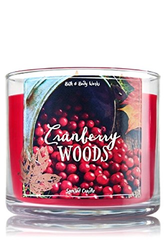 Bath & Body Works 3-Wick Candle in Cranberry Woods (Cranberry Woods compare prices)