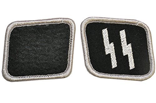 Pair Of Ss Collar Tabs