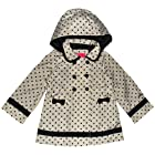 London Fog 12-24 Months Dot Trench Coat (18 Months, Beige)