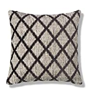Mineral Chenille Lattice Cushion