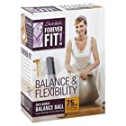 Forever Fit Anti-Burst Balance Ball, Balance & Flexibility, 75 cm, 1 ball