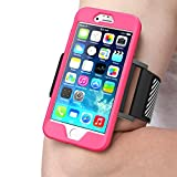 IPhone 6 Plus Armband, SUPCASE Apple IPhone 6 Plus Armband 5.5 Inch Easy Fitting Sport Running Armband With Premium...