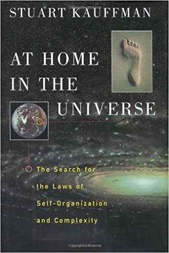 At Home in the Universe: The Search for the Laws of Self-Organization and Complexity written by Stuart Kauffman