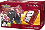 Nintendo 2DS Transparent Red with Pok...