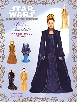 Padme Amidala Paper Doll Book (Star Wars, Episode II: Attack of the