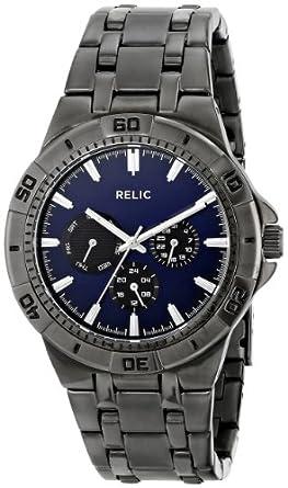 Relic Men's ZR15533 Analog Display Analog Quartz Grey Watch