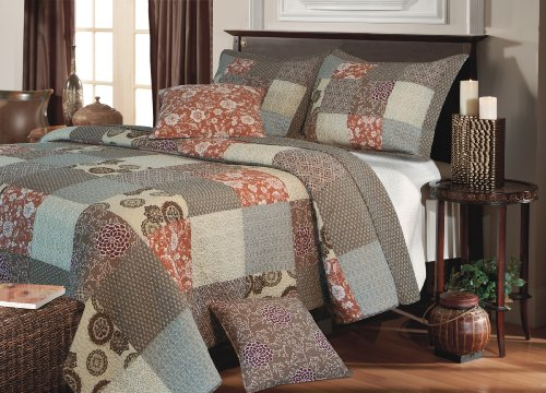 Greenland Home Fashions Stella Bonus 5-Piece Quilt Set, King