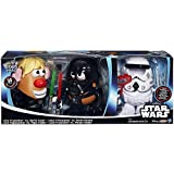 Disney Star Wars Mr Potato Head 30 Piece Set Luke Frywalker Darth Tater & Spudtrooper Costume