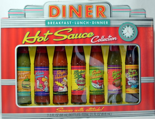 Diner Hot Sauce Collection - Set of 7