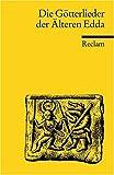 Die Götterlieder der Älteren Edda (Reclams Universal-Bibliothek) title=