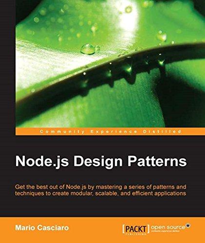 Node.js Design Patterns PDF
