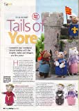 Tails of Yore Part 2 by Alan Dart mediaeval mice The Knights, Ladies, Villagers and The Jester Knitting Pattern: Measurement 6