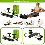 Bluebells India Revoflex Xtreme Home Fitness Workout Resistance Tube For Abs Thin Waist Gym Exercise Machine Abs...