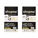 Shopme HD Shatterproof Premium Tempered Glass (Pack Of 2)for Micromax Canvas L A108
