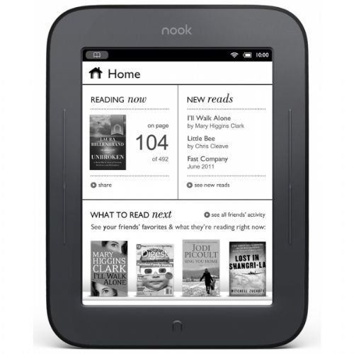 Barnes & Noble Nook Simple Touch eBook Reader 2GB Wi-Fi (Certified Refurbished)